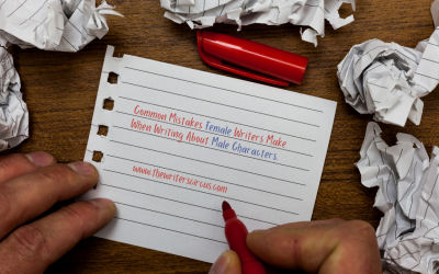 Common Mistakes Female Writers Make When Writing Male Characters